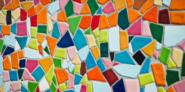 décor en mosaïque