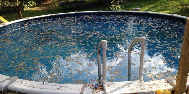 Entretien de la piscine pendant l'hiver