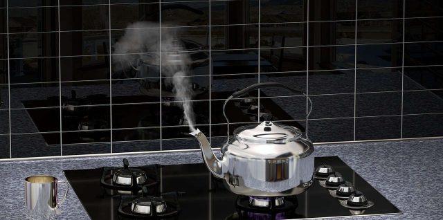 Crédence de cuisine en verre